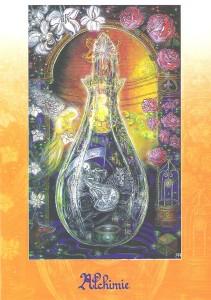 carte symbole alchimique